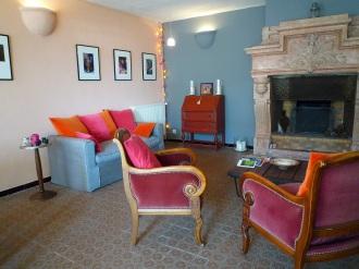 www.lagerine.com Chambres Hôtes Ampuis Le Salon 2