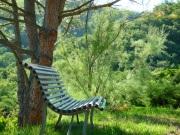 www.lagerine.com Chambres d'Hôtes à Ampuis le jardin