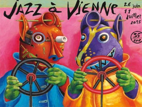 Affiche Jazz a Vienne 2015