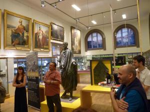 Quand le vin rencontre l'art Musée des Beaux Arts de Vienne le 13 juin 2015 25