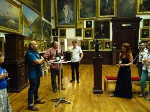 Quand le vin rencontre l'art Musée des Beaux Arts de Vienne le 13 juin 2015 9