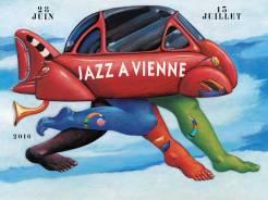 Affiche Jazz à Vienne 2016